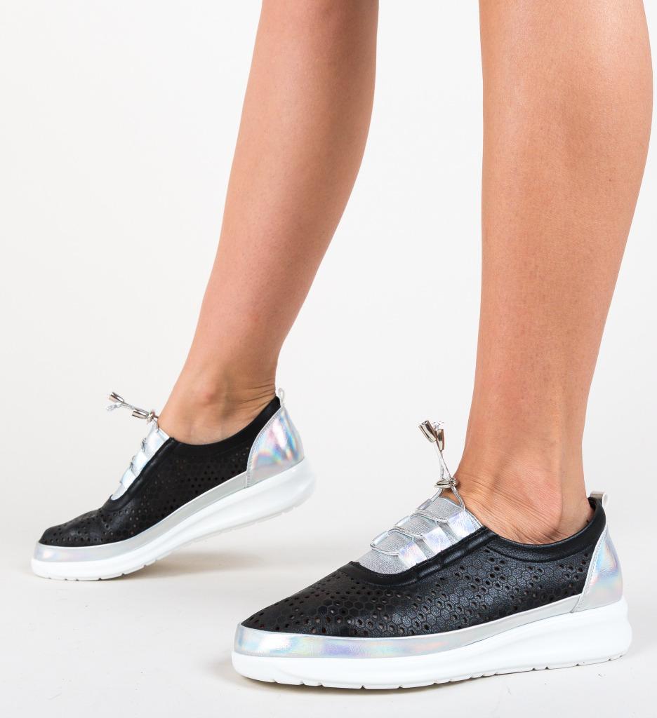 Pantofi Casual Fagara Negri