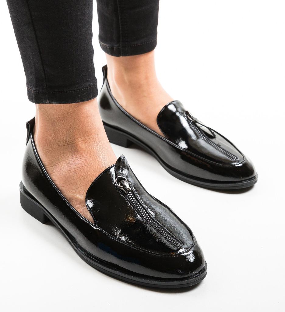 Pantofi Casual Felio Negri