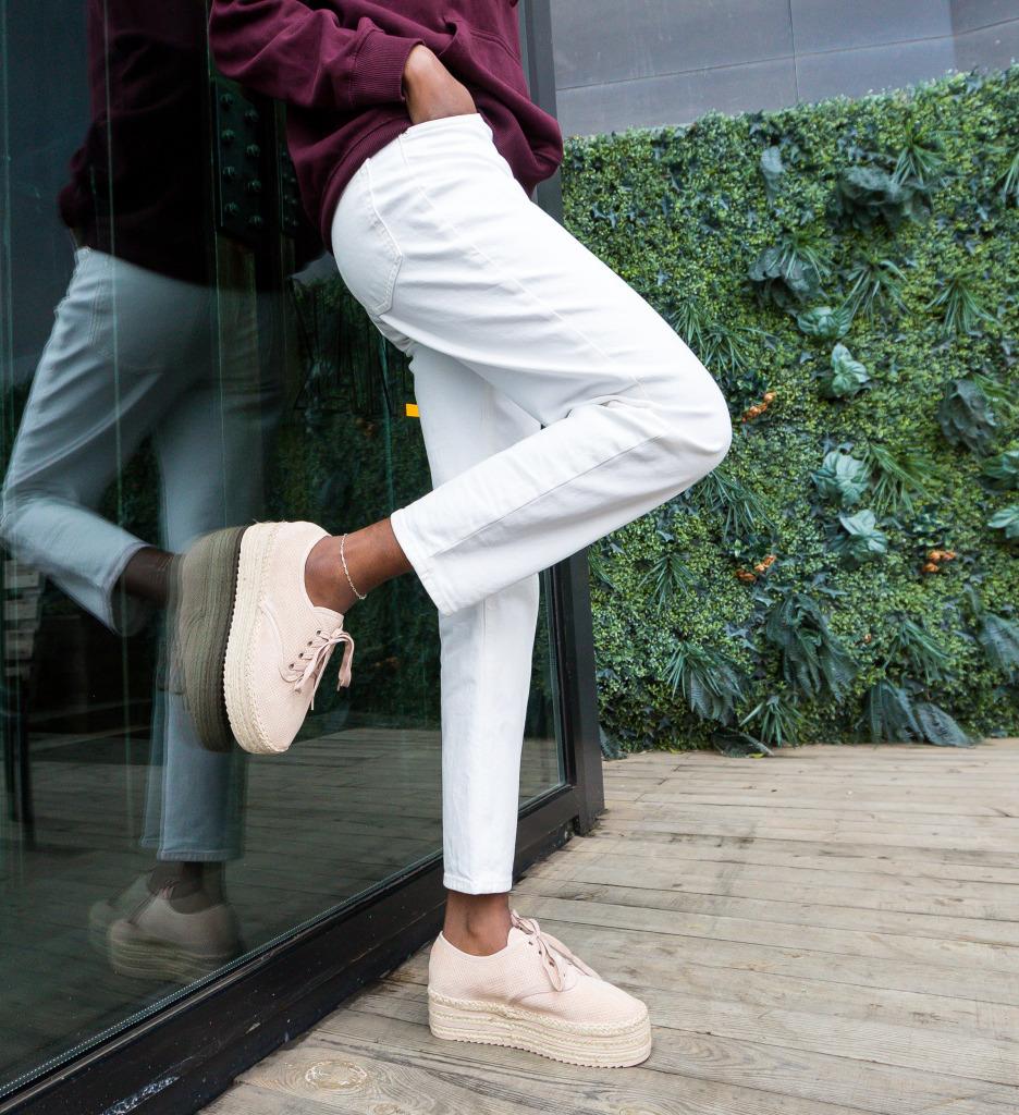 Pantofi Casual Jamelia Nude