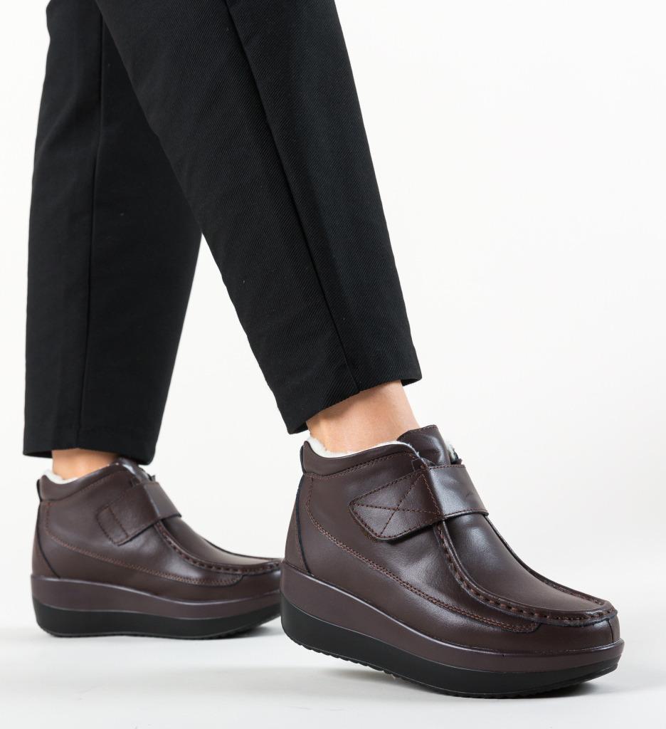 Pantofi Casual Jistry Maro