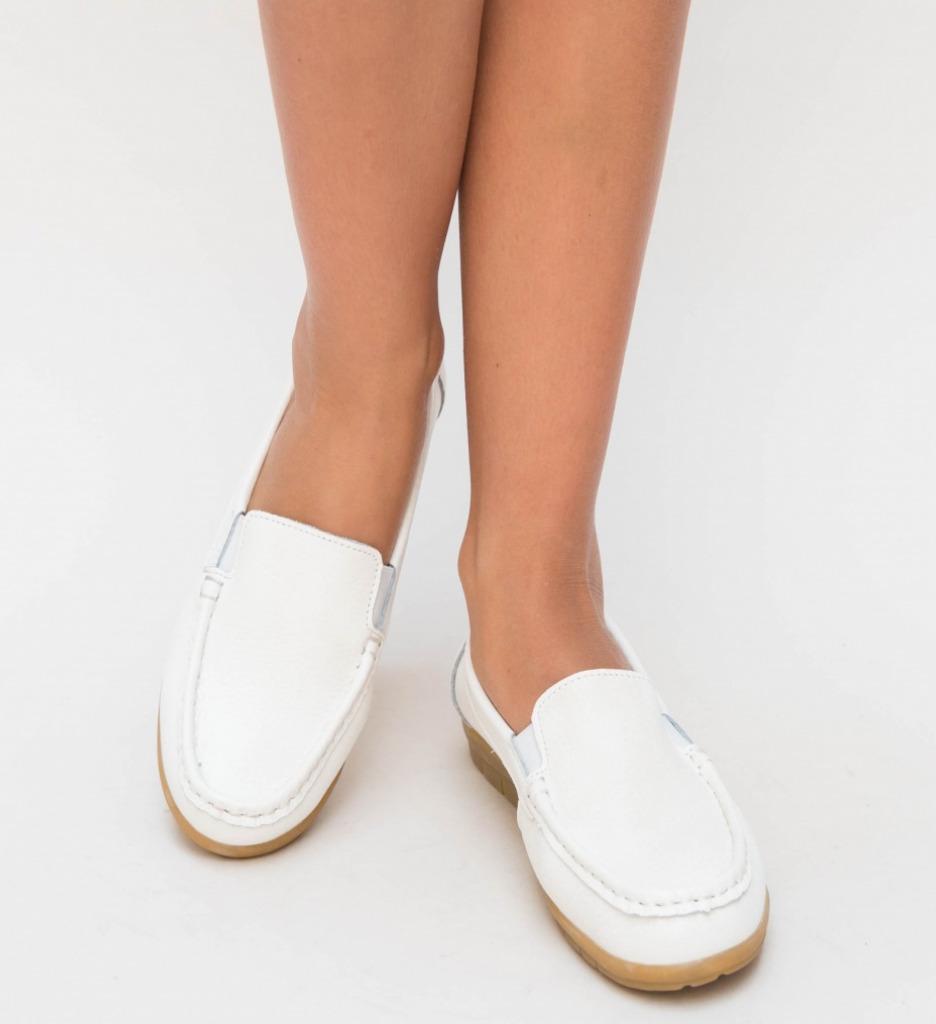Pantofi Casual Kives Albi