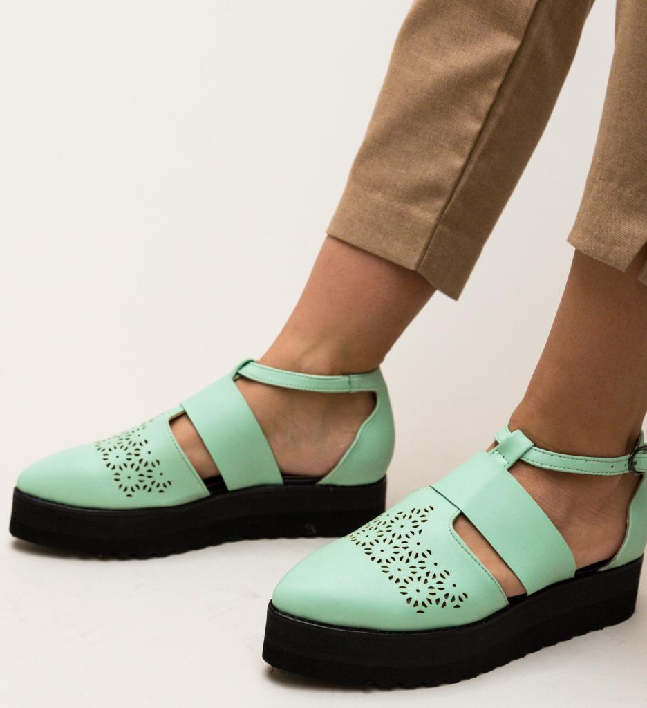 Pantofi Casual Lazer Turcoaz imagine
