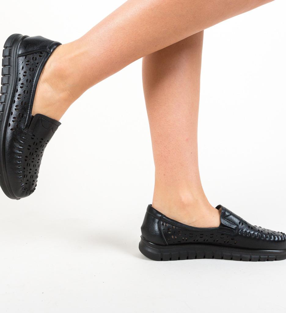 Pantofi Casual Maslon Negri