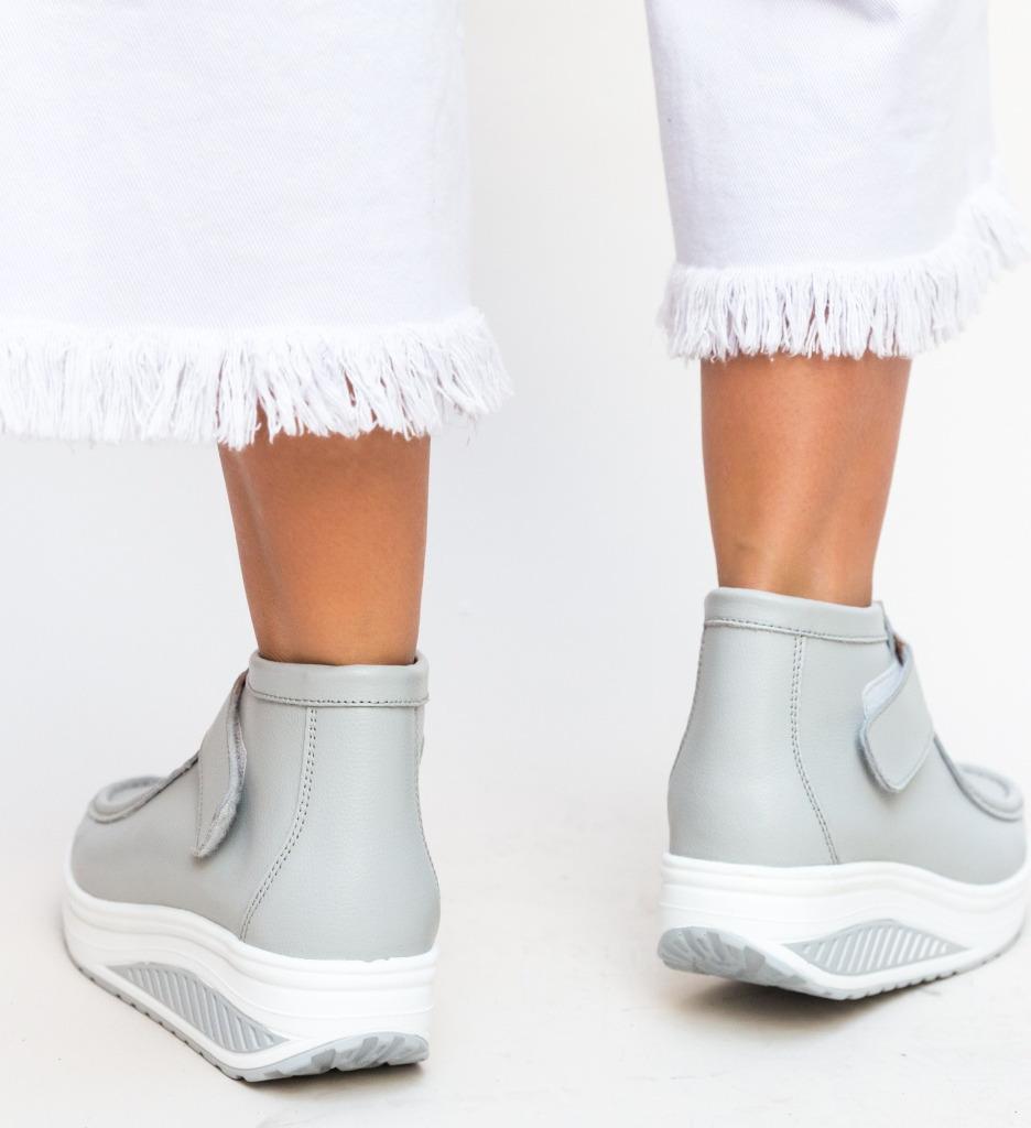 Pantofi Casual Misha Gri