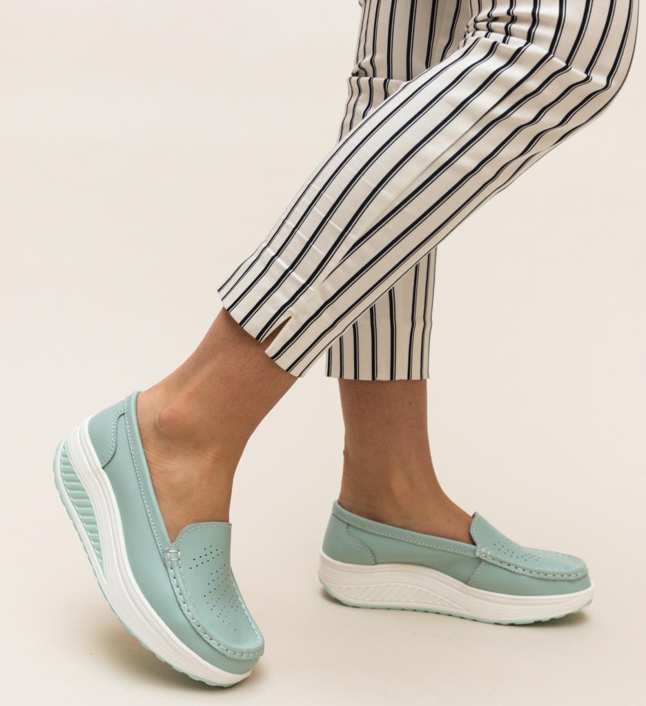 Pantofi Casual Musta Albastri imagine 2021