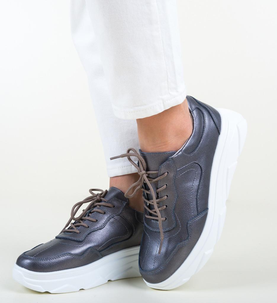 Pantofi Casual Nur Gri