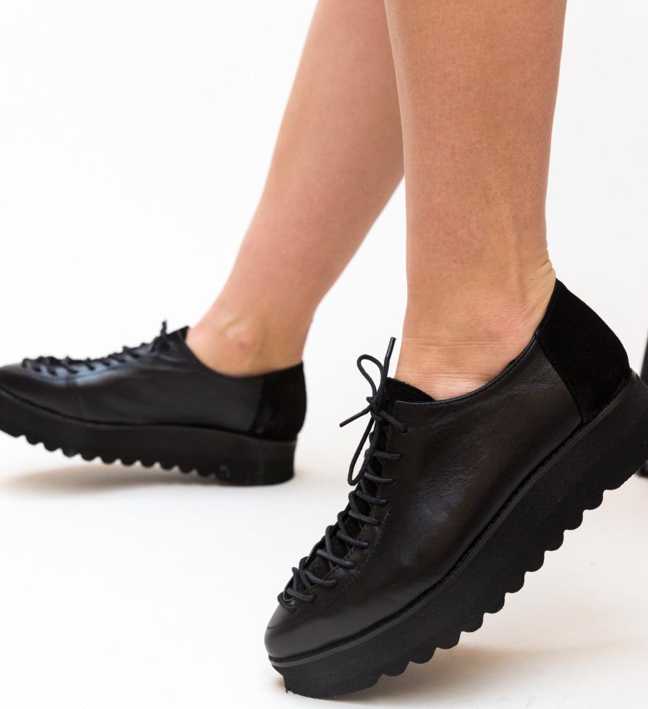 Pantofi Casual Palermo Negri 2