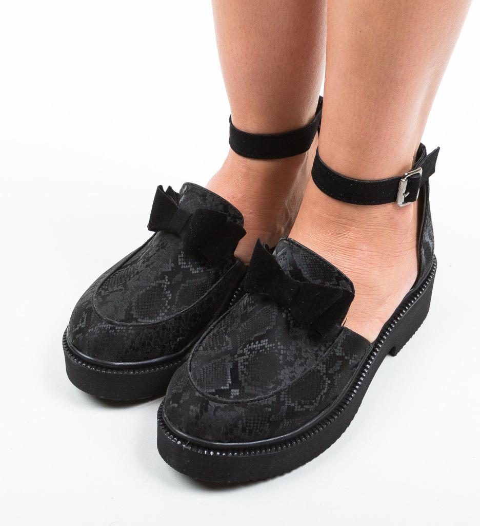 Pantofi Casual Pretty Negri 4