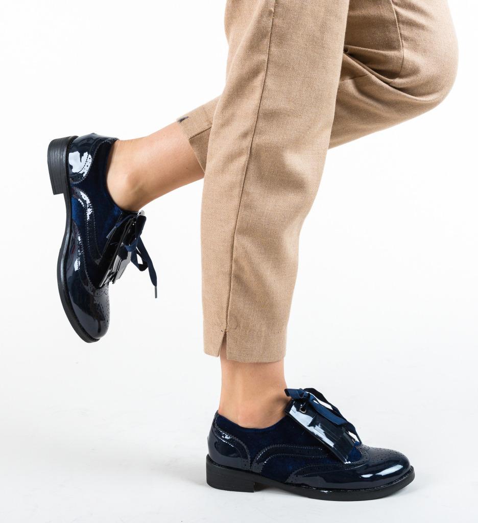 Pantofi Casual Rikesh Bleumarin