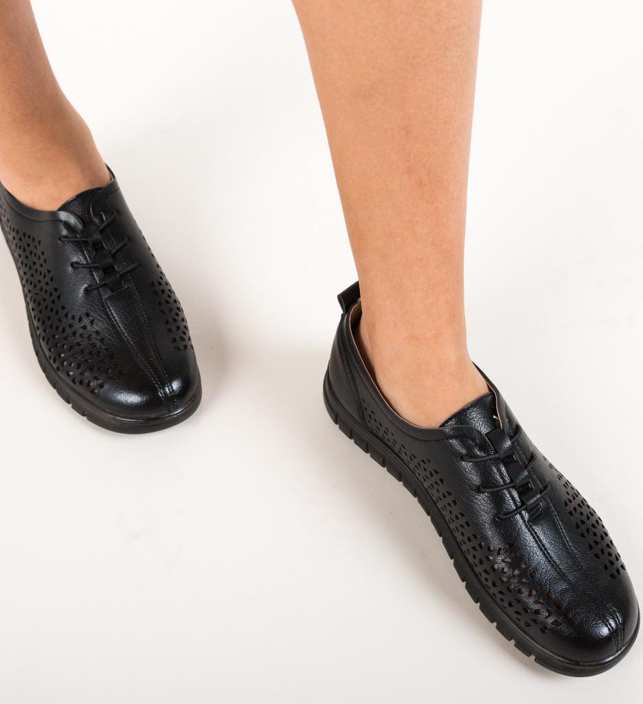 Pantofi Casual Rinhob Negre
