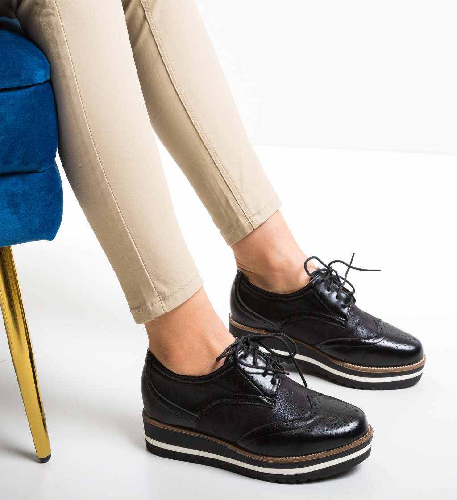 Pantofi Casual Sefti Negri