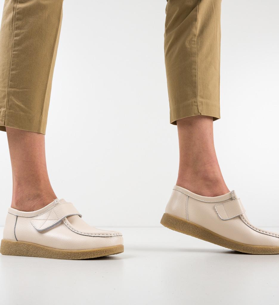 Pantofi Casual Seninena Bej
