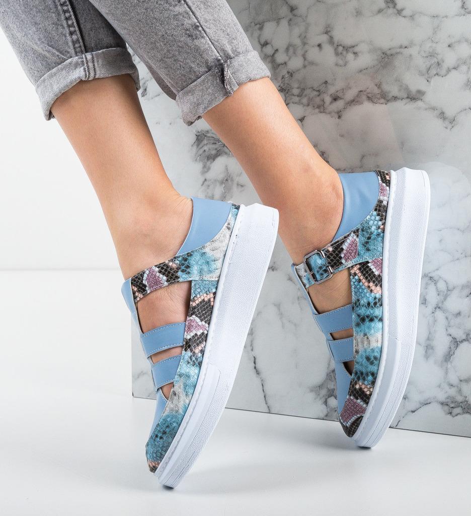 Pantofi Casual Sonicx Albastri
