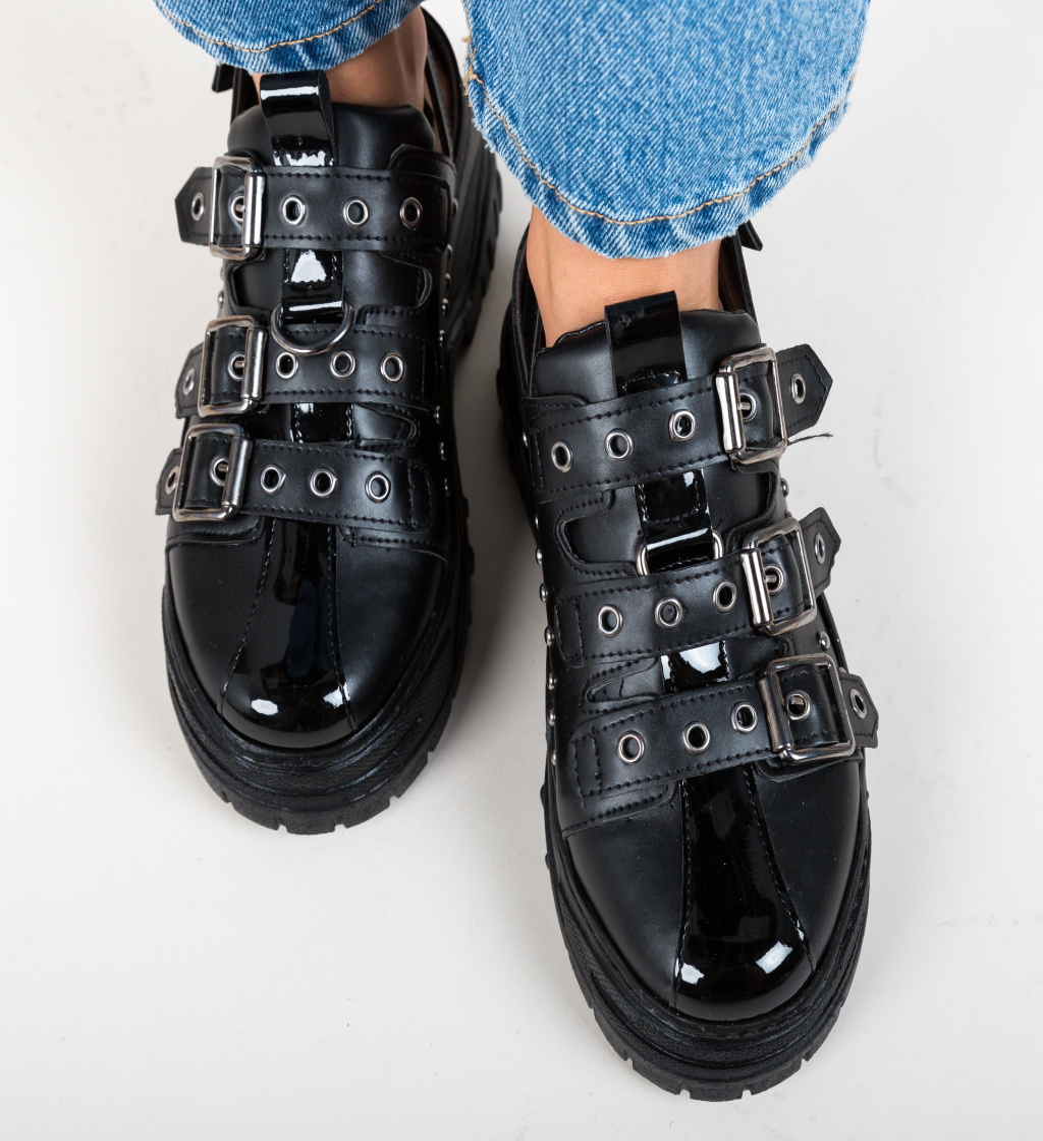 Pantofi Casual Stoneh Negri