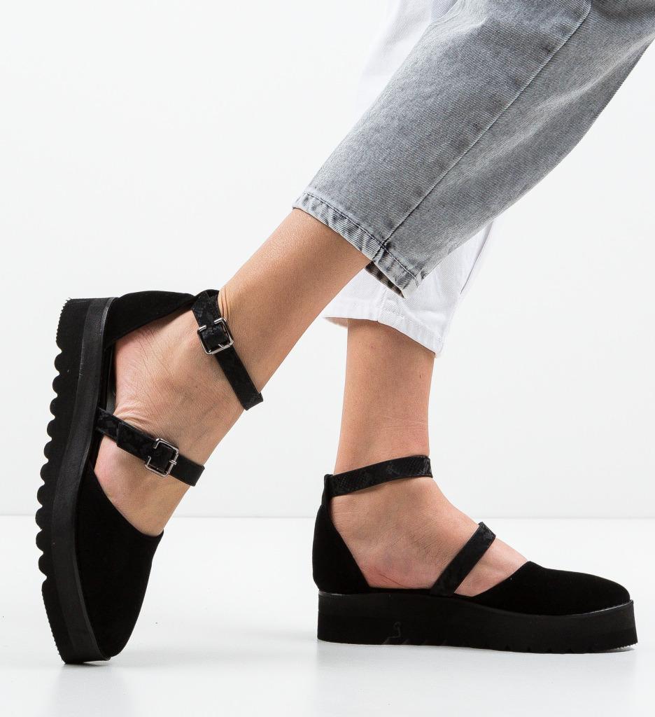 Pantofi Casual Tobaco Negre