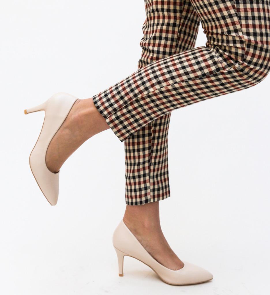 Pantofi Cheloo Bej