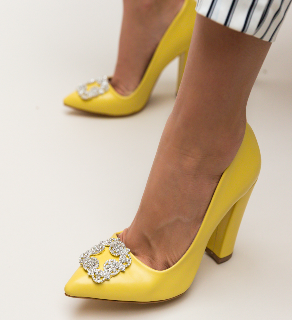 Pantofi Cornelius Galbeni