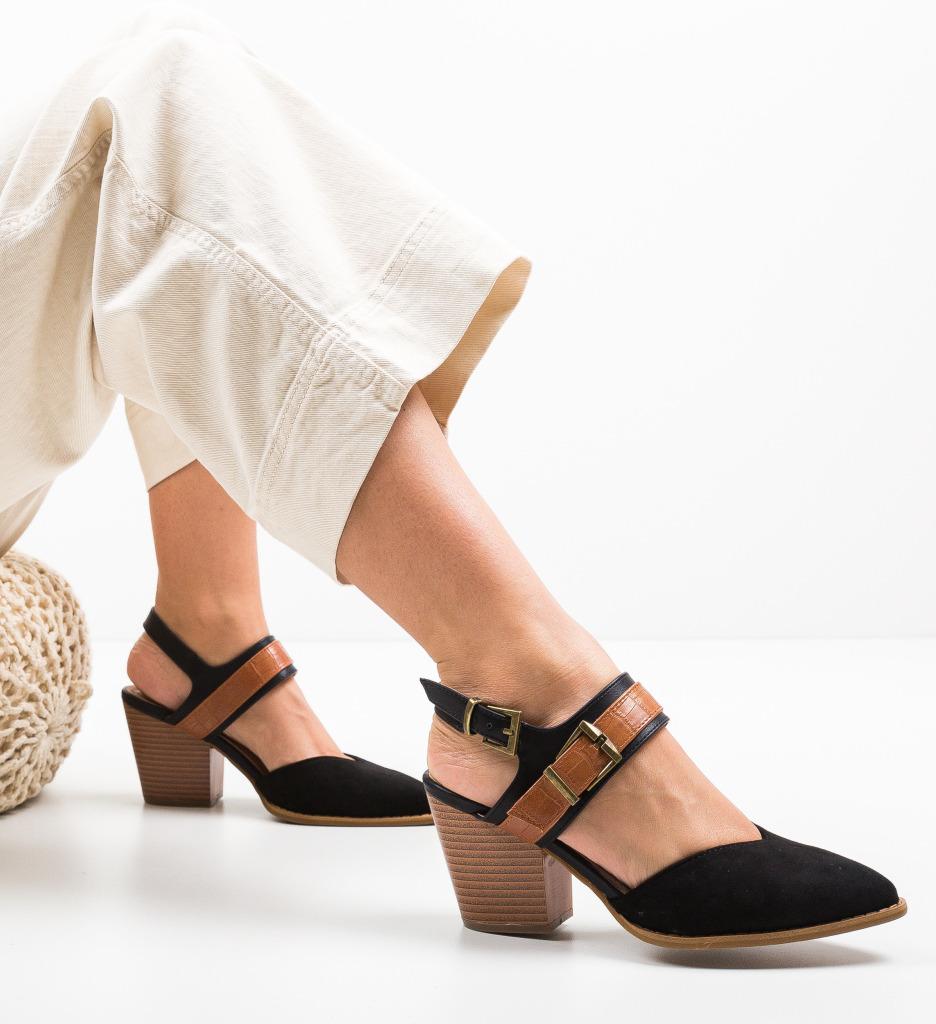 Pantofi Doro Negri