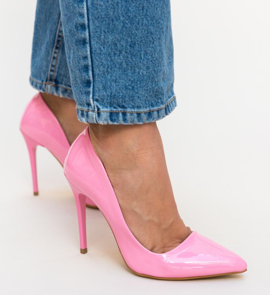 Pantofi Easter Roz