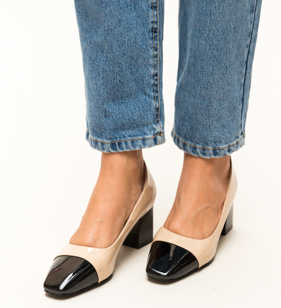 Pantofi Ella Bej