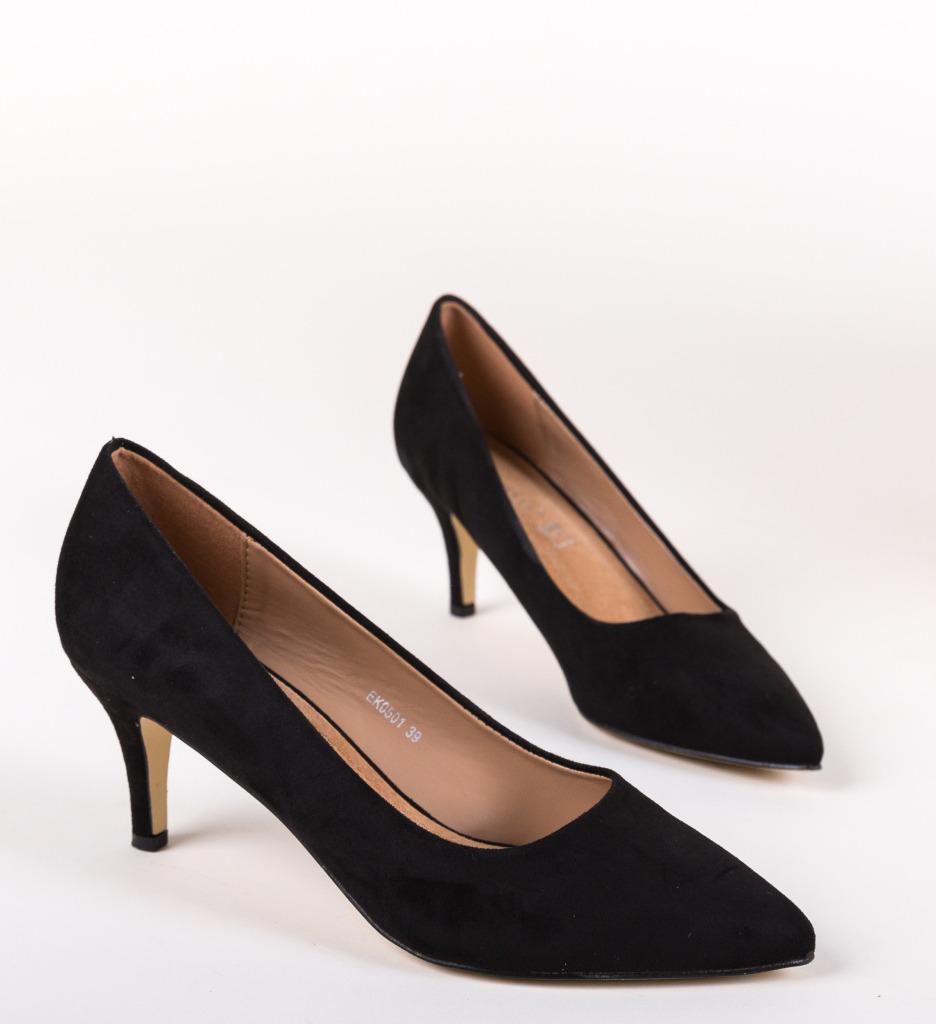 Pantofi Grekos Negri