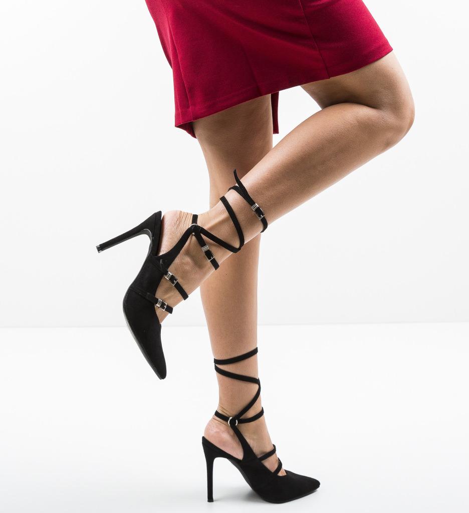 Pantofi Janem Negri