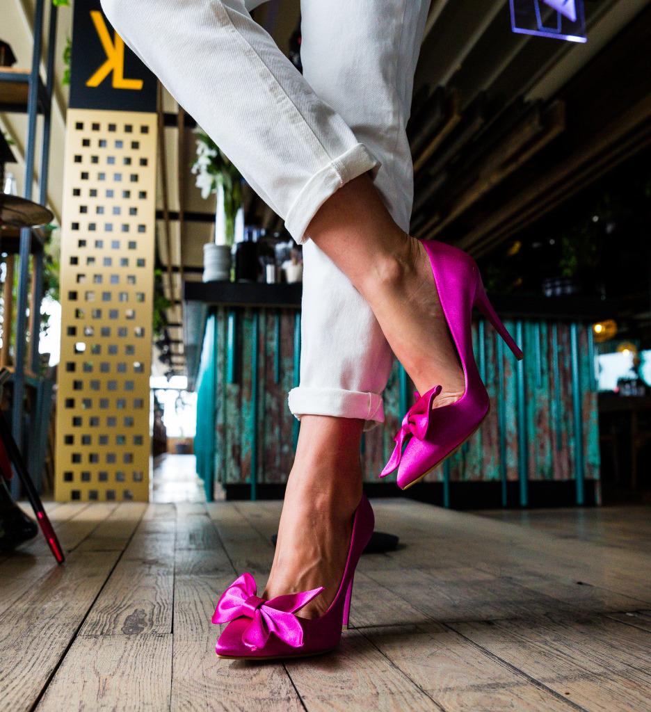 Pantofi Juanita Fuchsia