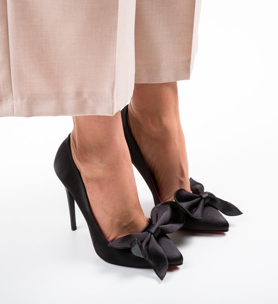 Pantofi Juanita Negri 2