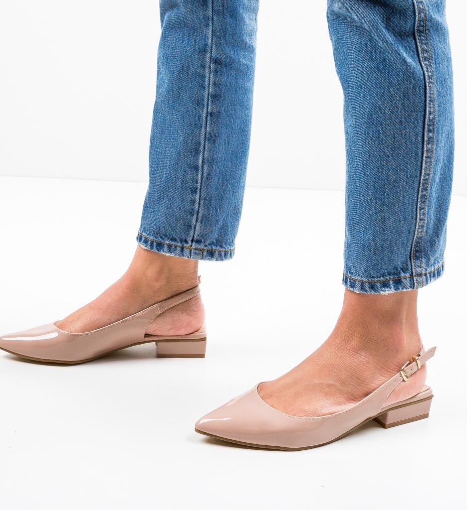 Pantofi Lim Nude
