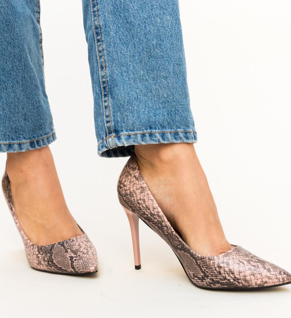 Pantofi Miami Roz