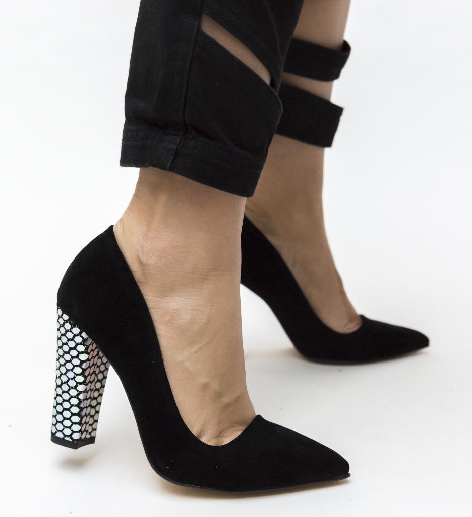 Pantofi Nasero Negri