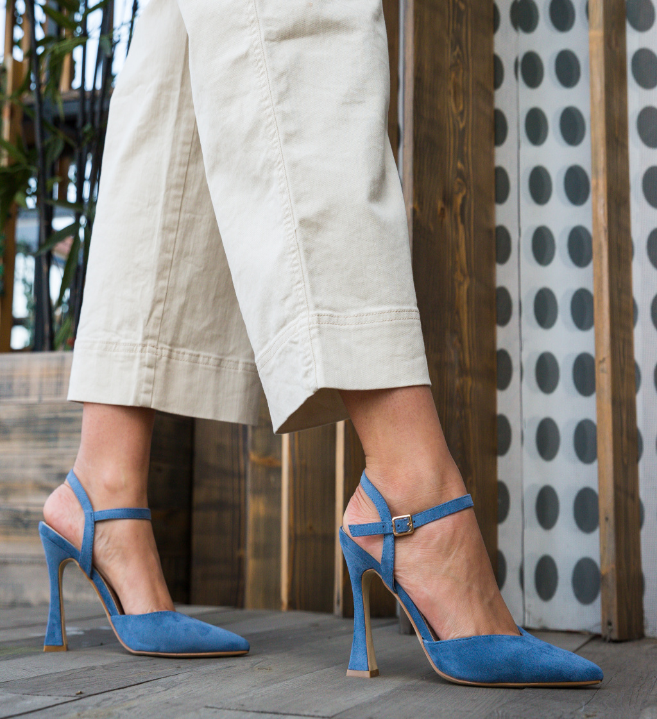 Pantofi Neroc Albastri