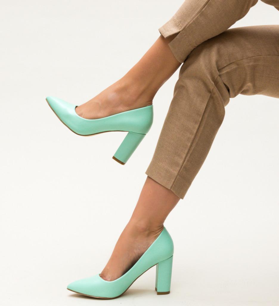 Pantofi Pauline Verzi imagine 2021