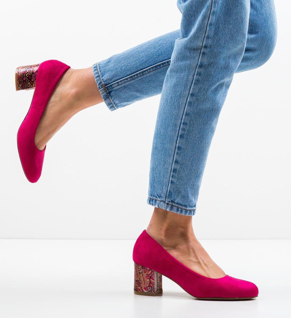 Pantofi Sahara Fuchsia