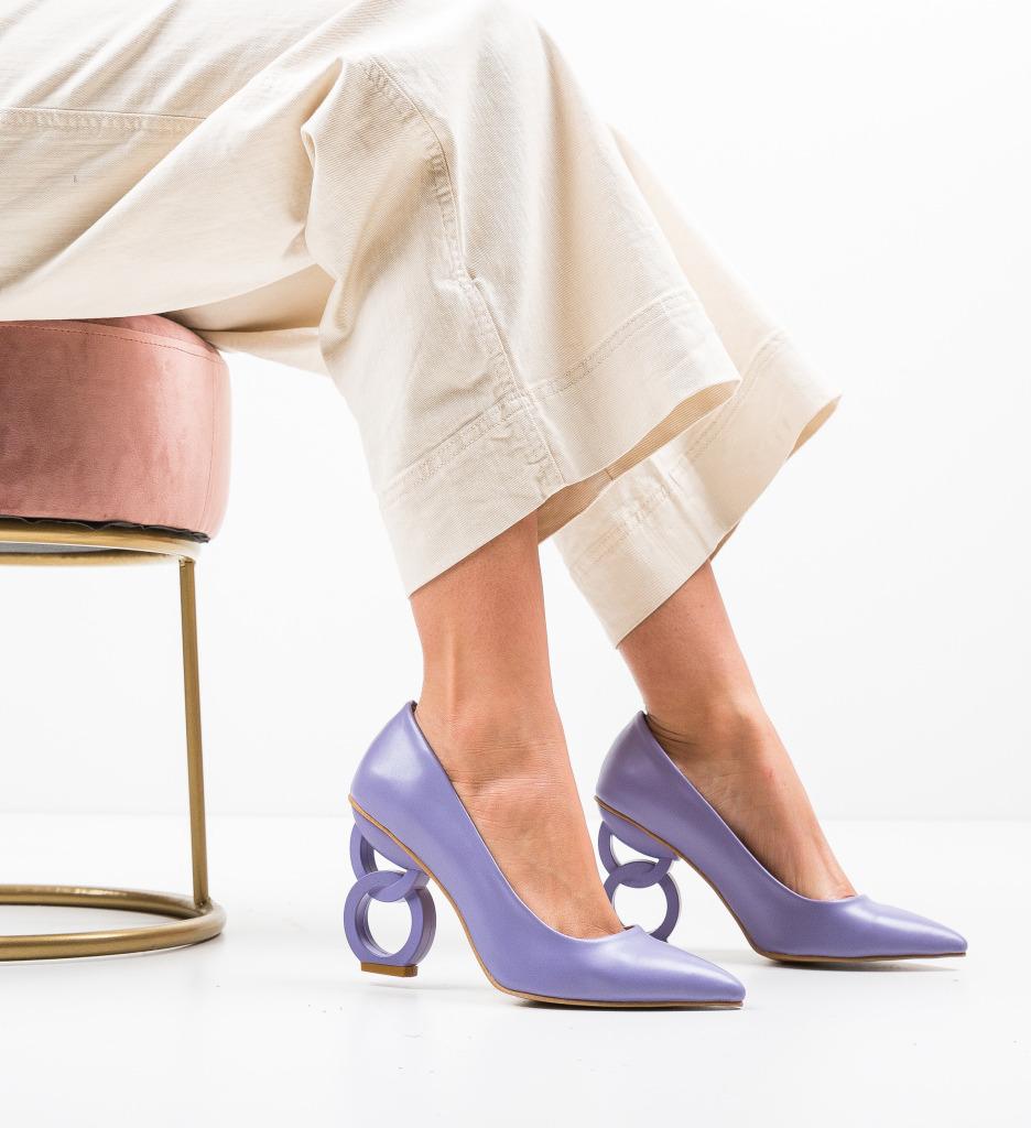 Pantofi Simoni Lila