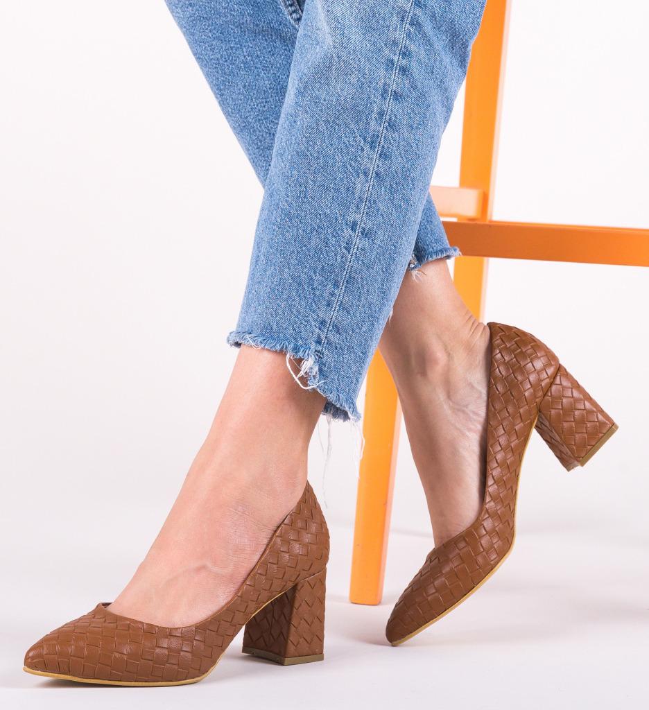 Pantofi Spic Maro