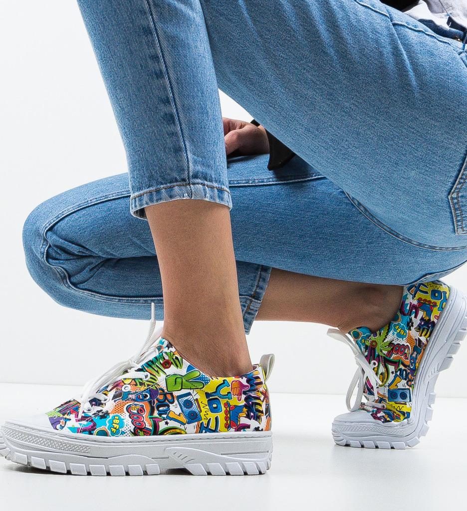 Pantofi Sport Anima Albi 2