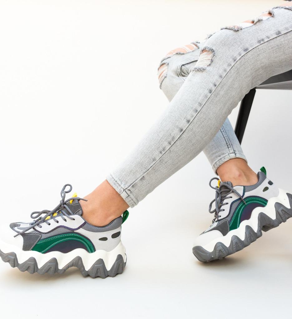 Pantofi Sport Bento Gri