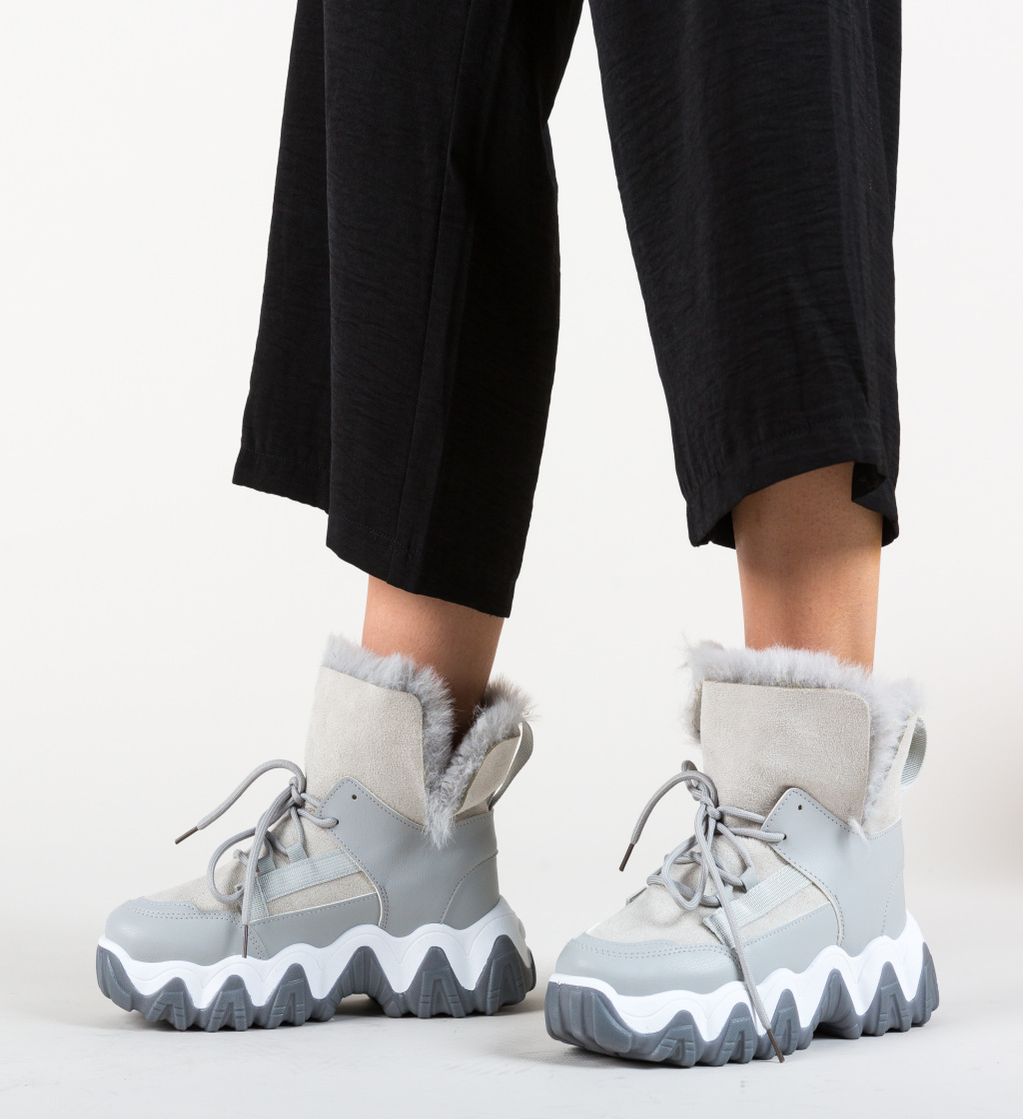 Pantofi Sport Feelo Gri