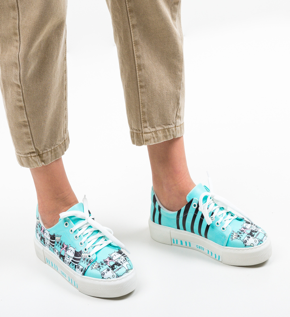 Pantofi Sport Ferzio Albastri