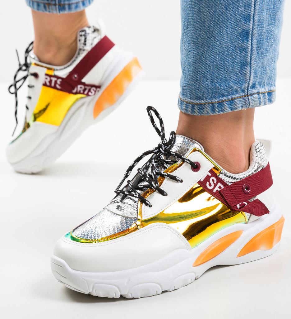 Pantofi Sport Hane Portocalii