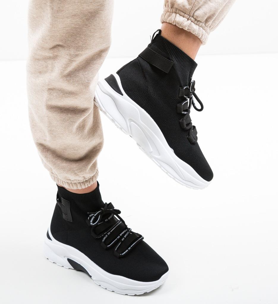 Pantofi Sport Hunt Negri