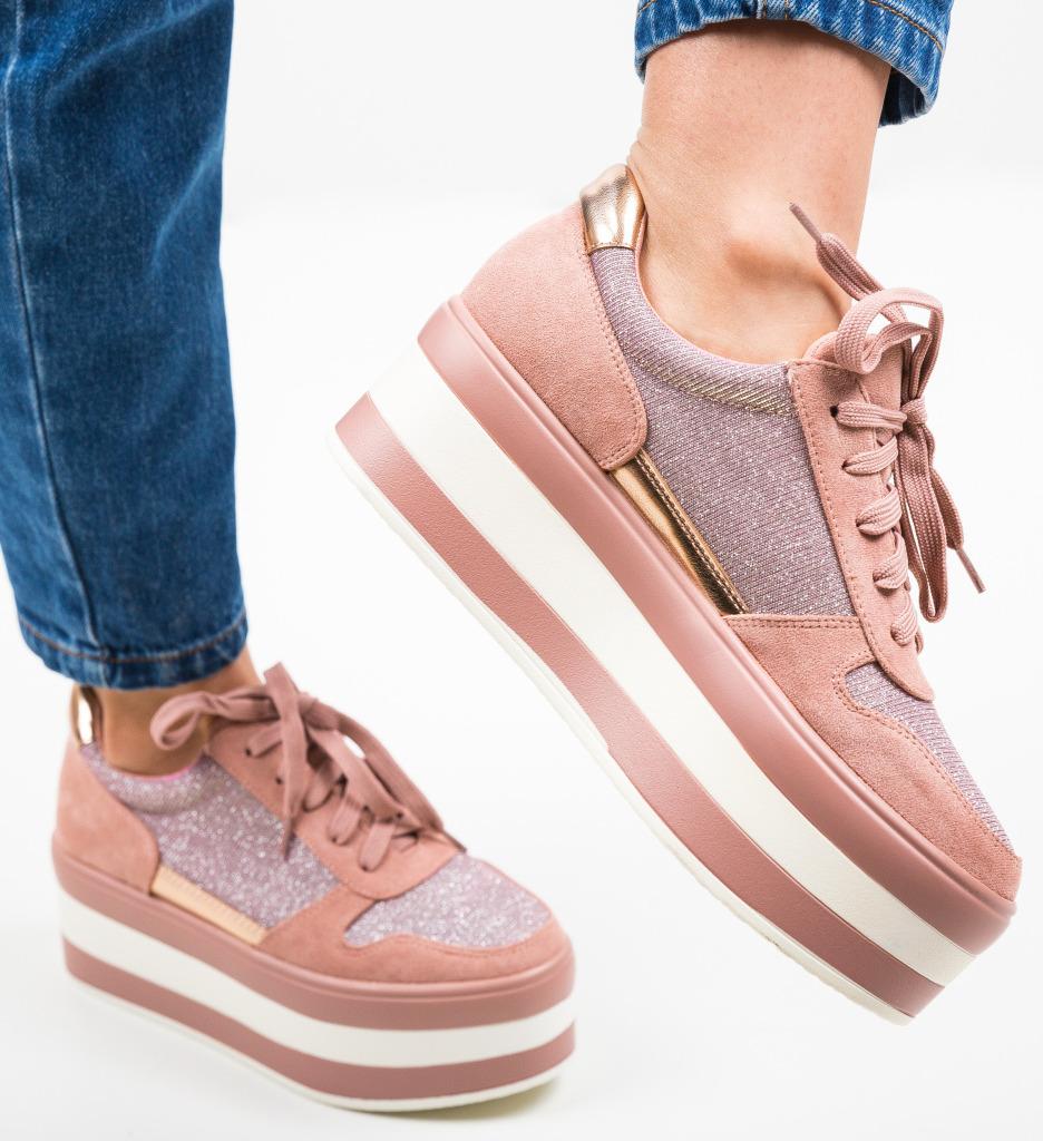 Pantofi Sport Laoq Roz
