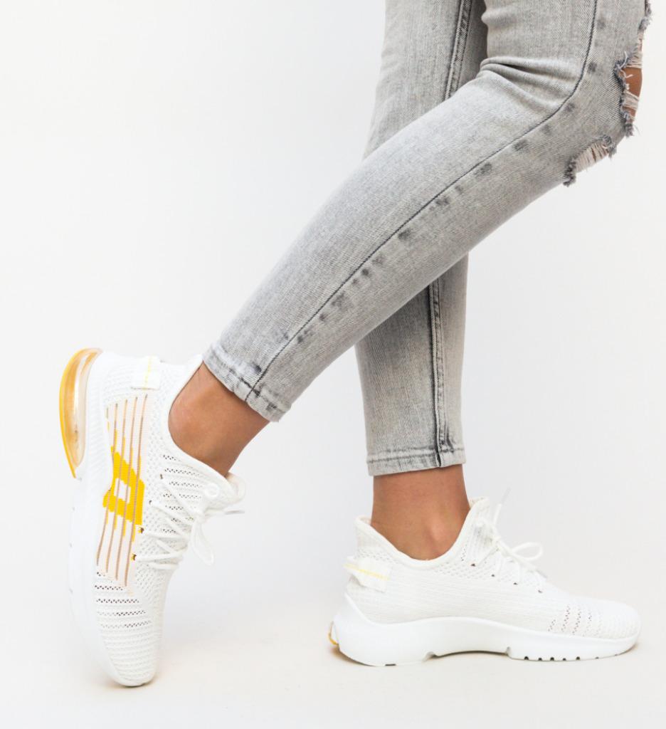 Pantofi Sport Lino Galbeni