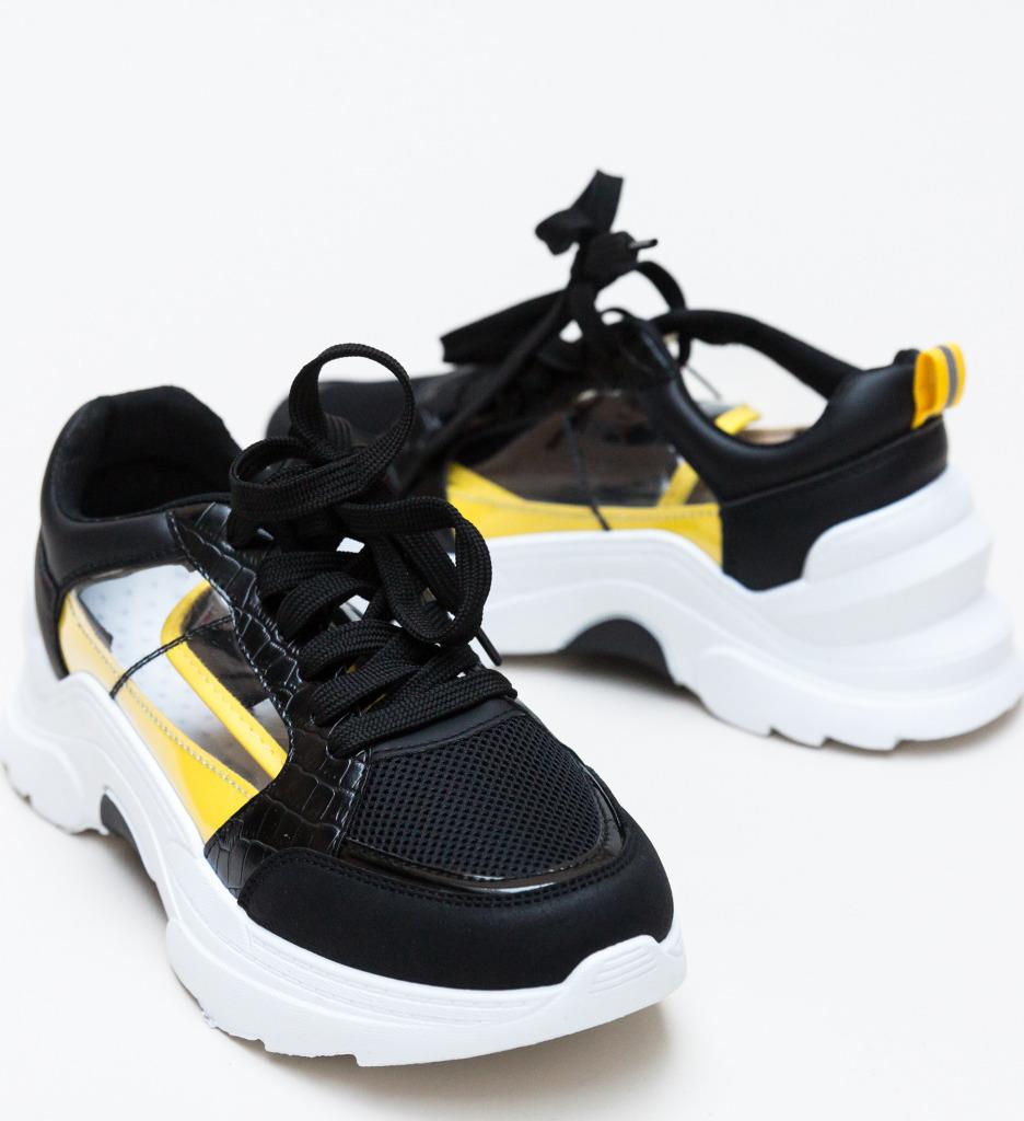 Pantofi Sport Nigen Negri imagine