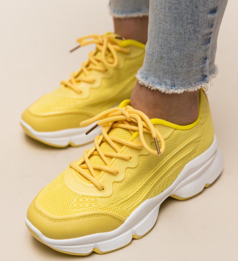 Pantofi Sport Ryker Galbeni