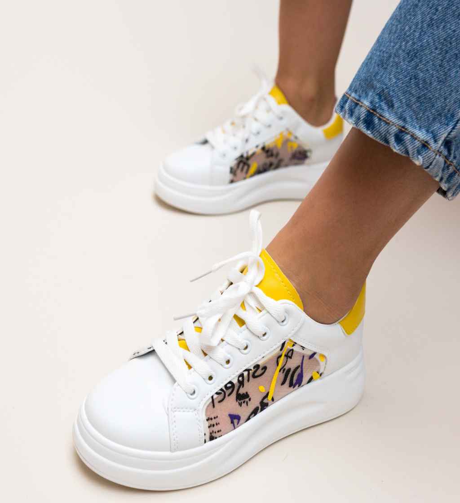 Pantofi Sport Shiral Galbeni