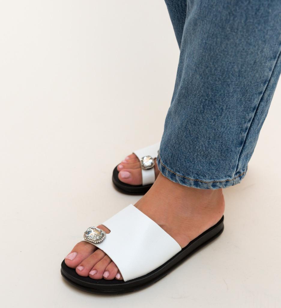 Papuci Blade Albi