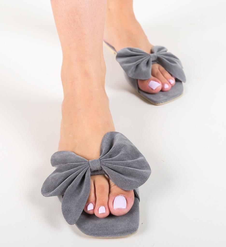 Papuci Dojah Gri