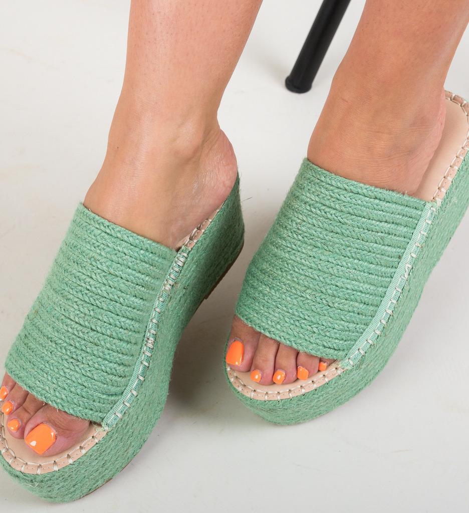 Papuci Ollie Verzi